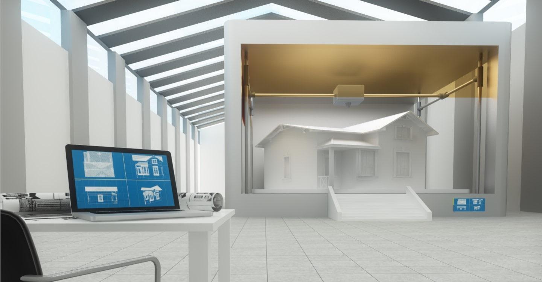 contrôle technique maison imprimée en 3d