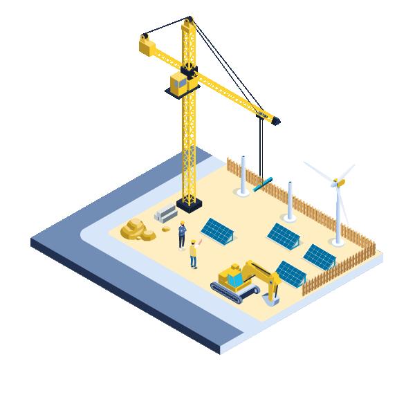 Construction - Secteur énergies renouvelables