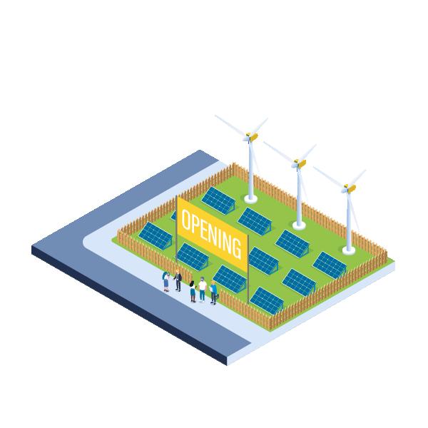 Réception - Secteur énergies renouvelables