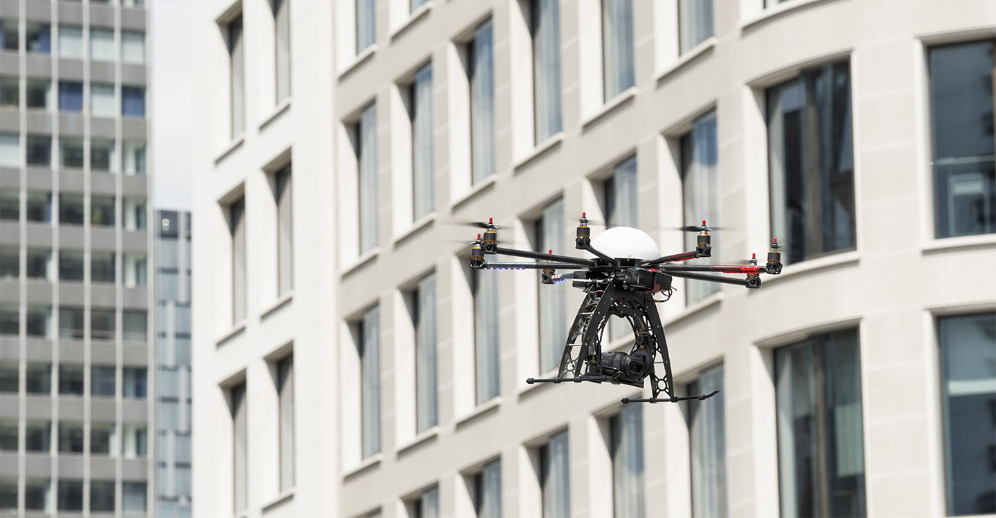 diagnostics techniques par drone