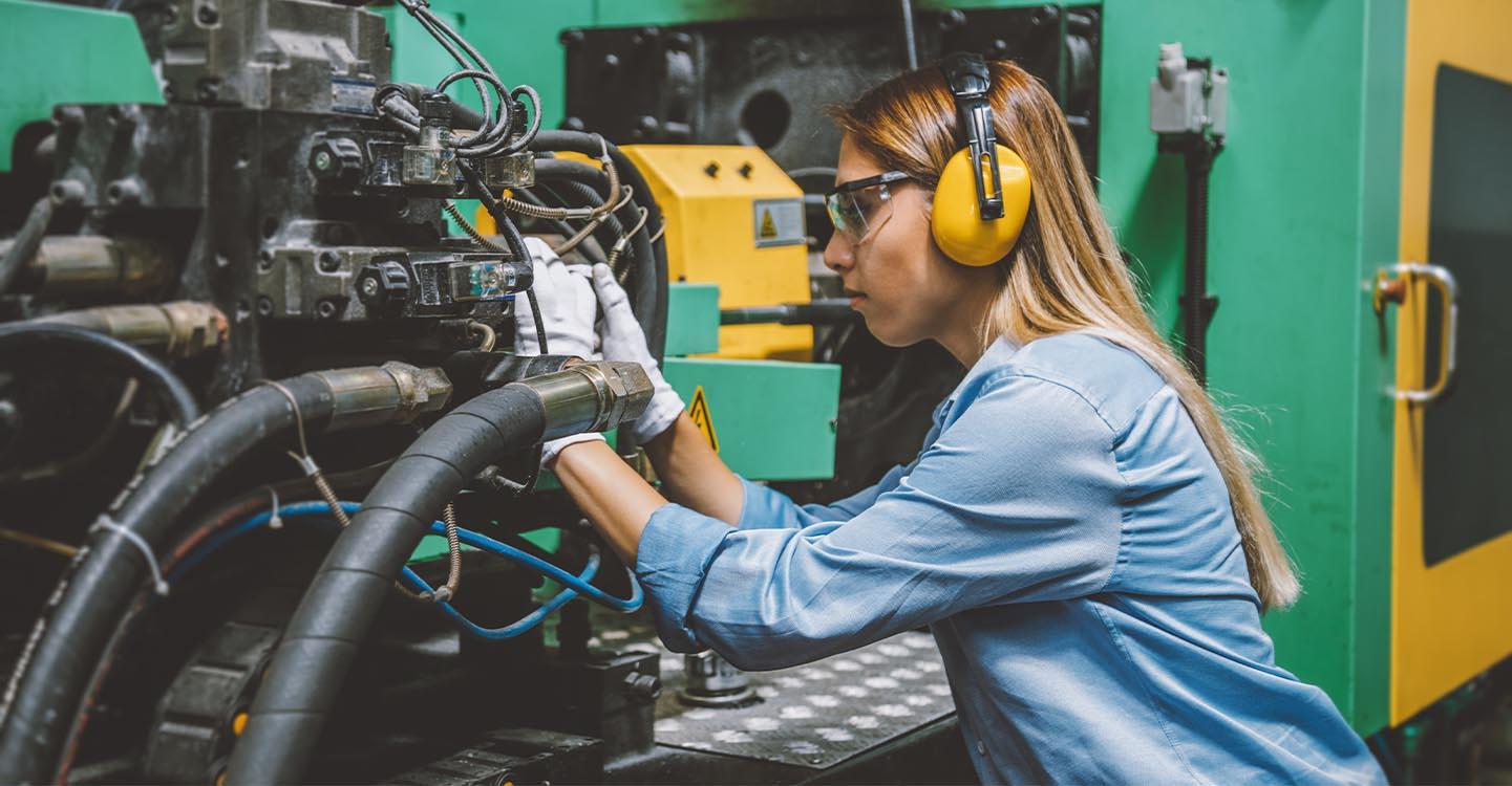 Exposition au bruit et aux vibrations en industrie