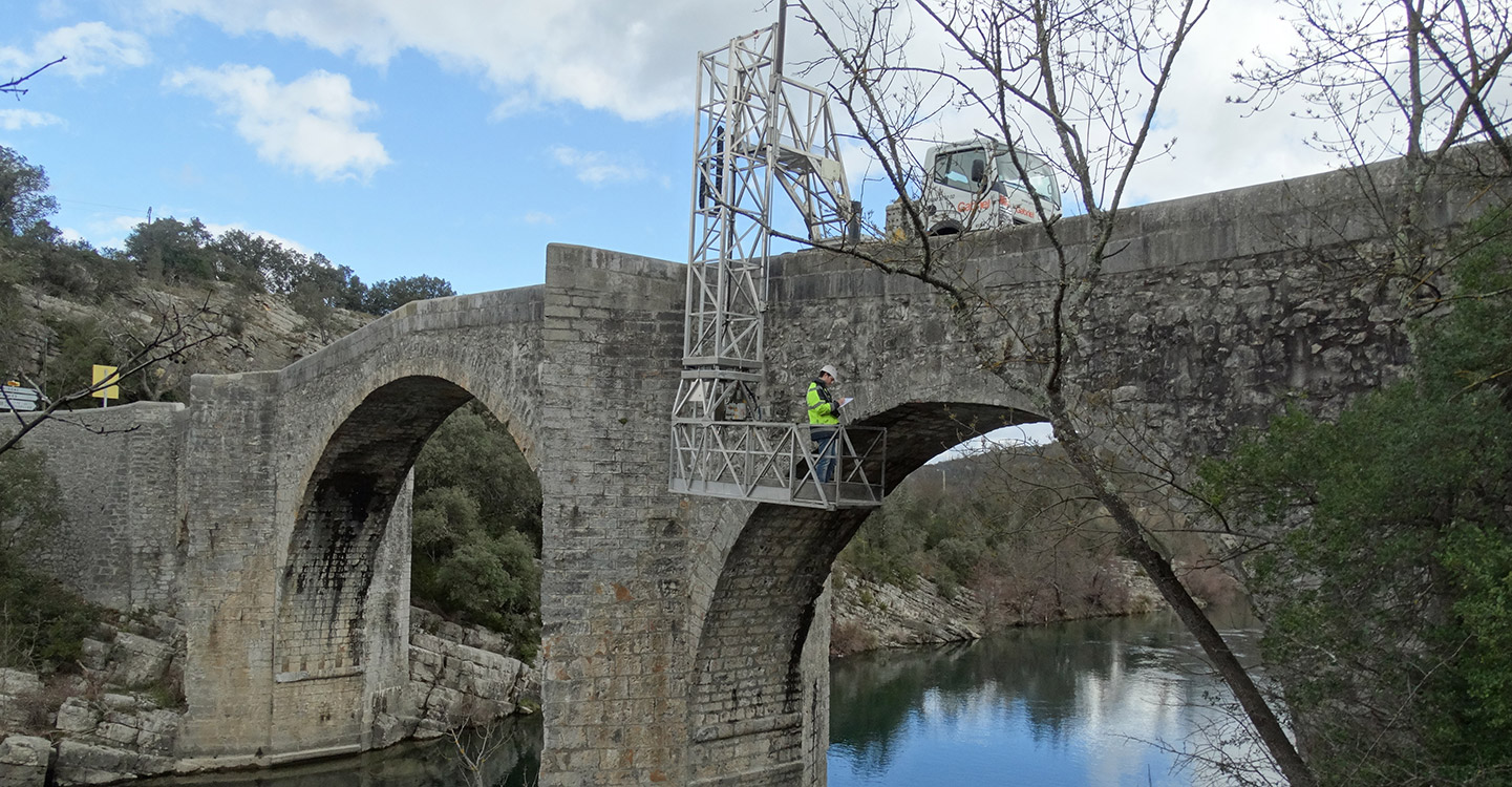 Inspections, diagnostics et surveillance des ponts et des ouvrages de génie civil