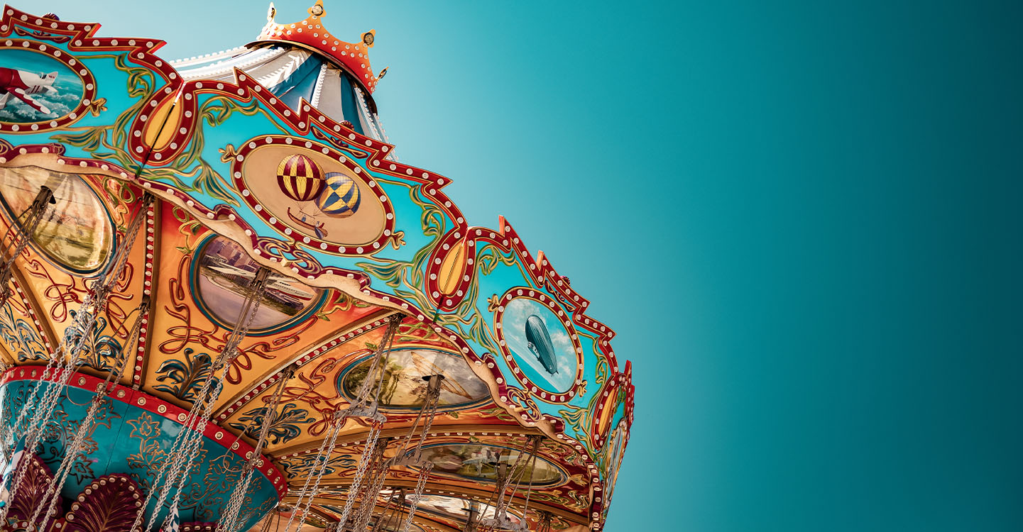 Maneges et spectacles de parcs d'attraction