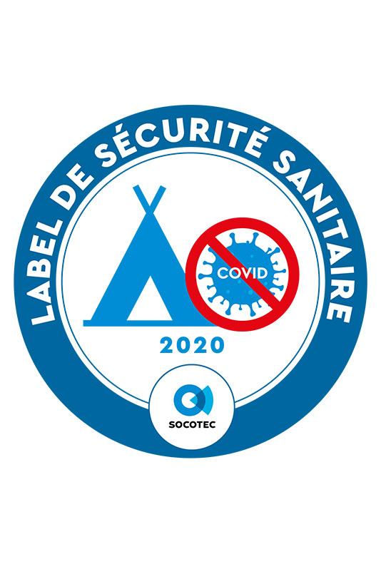 label sécurité sanitaire campings