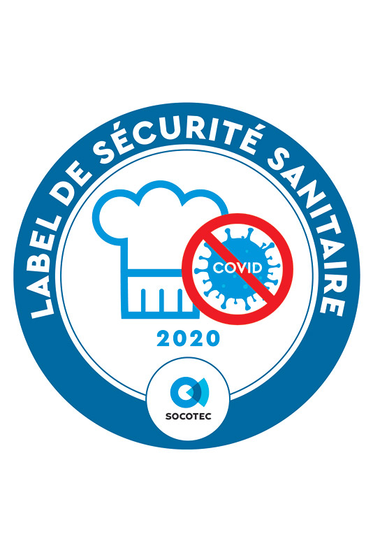 Label sécurité sanitaire Cafés Restaurants
