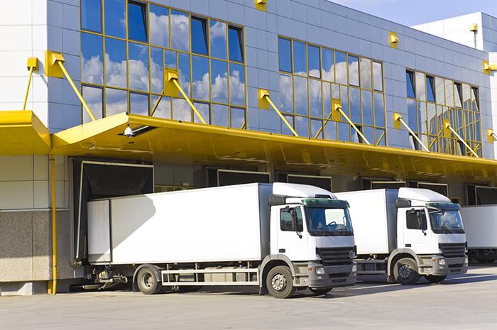 Entrepôt logistique