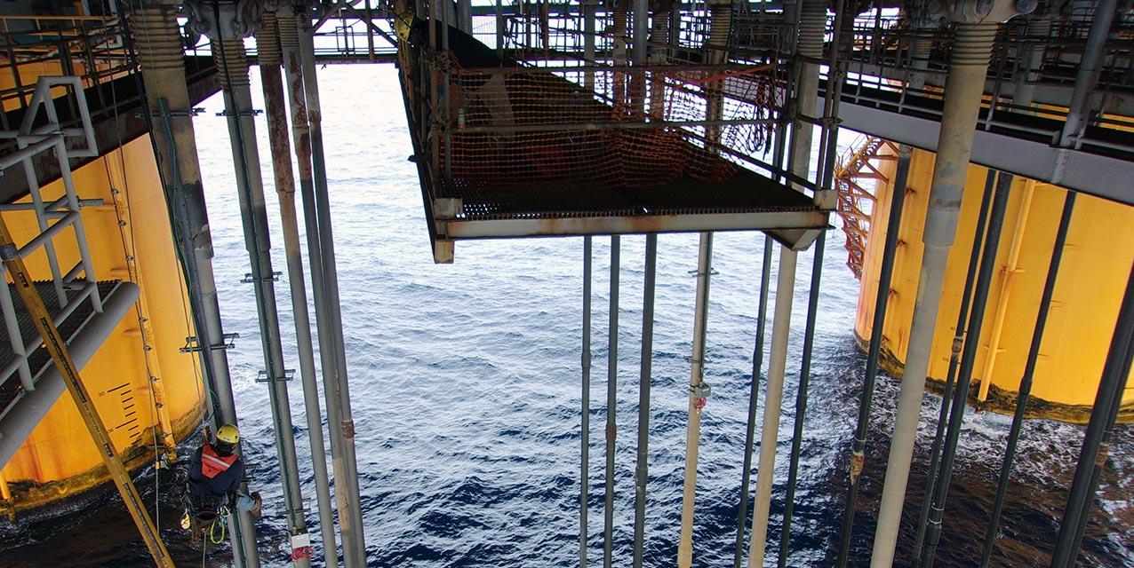 Instrumentation-risers-platerforme-Offshore-Golfe-du-Mexique
