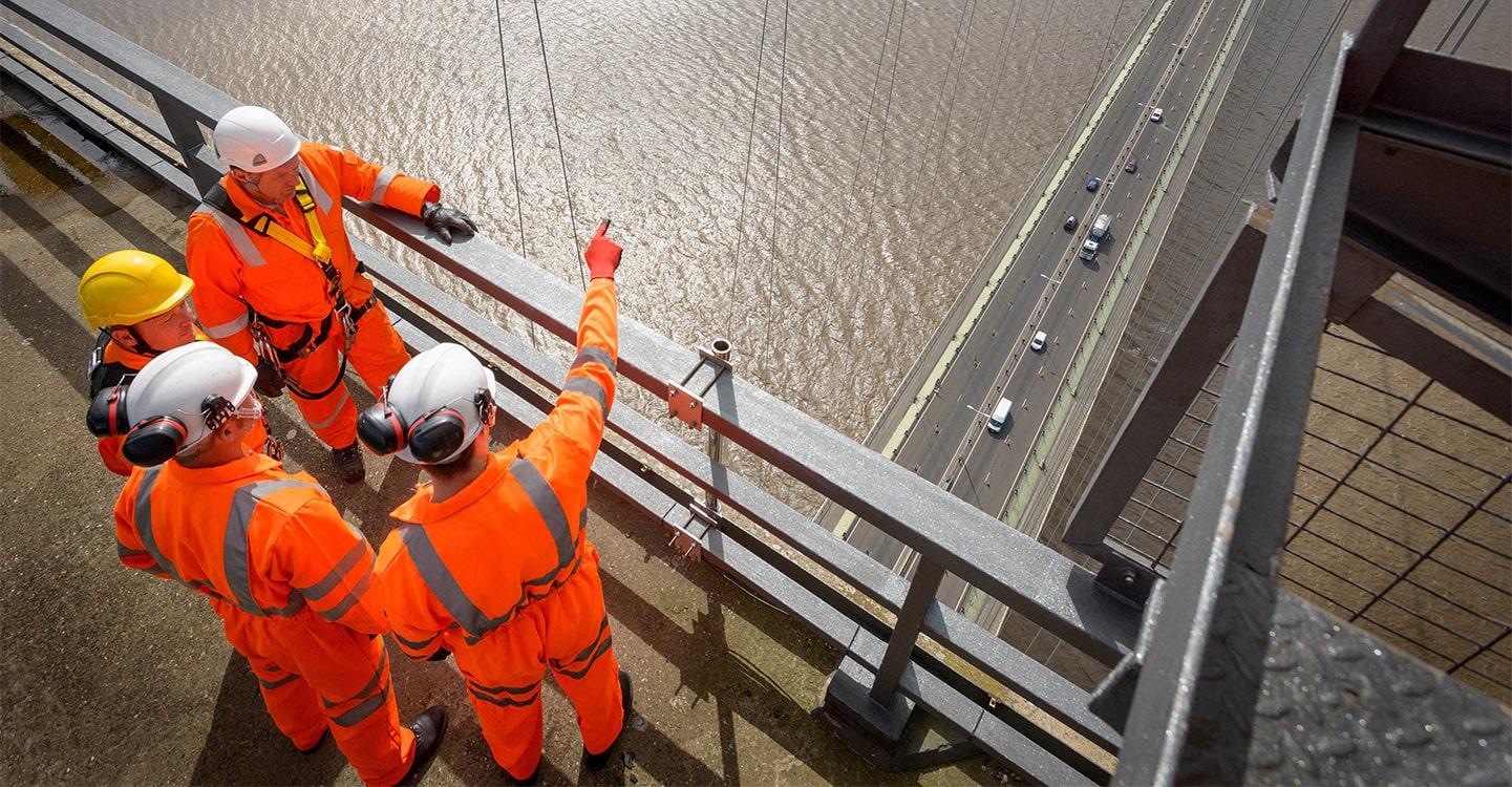 Infrastructures – ponts suspendus